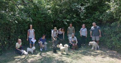 Ukončenie kurzu základnej poslušnosti psa máj/júl 2021