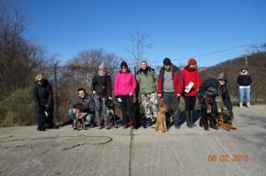 Vycvik psov Bratislava Lamac 135